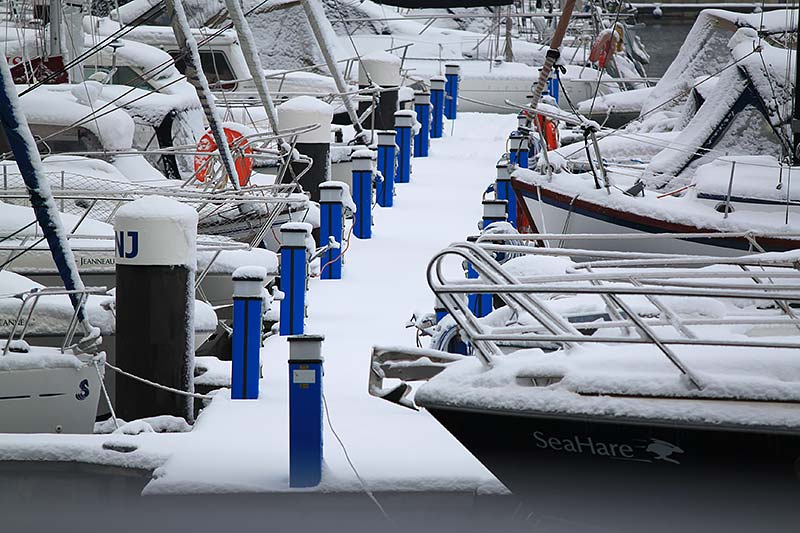 Taking Care of Sails this Winter