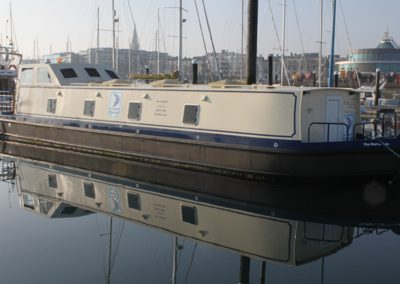 The Marina's Amenity Barge
